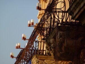 illuminazione palazzo nicolaci